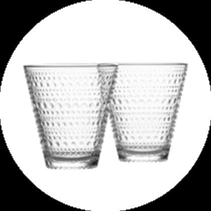 Iittalan Kastehelmi-juomalasit